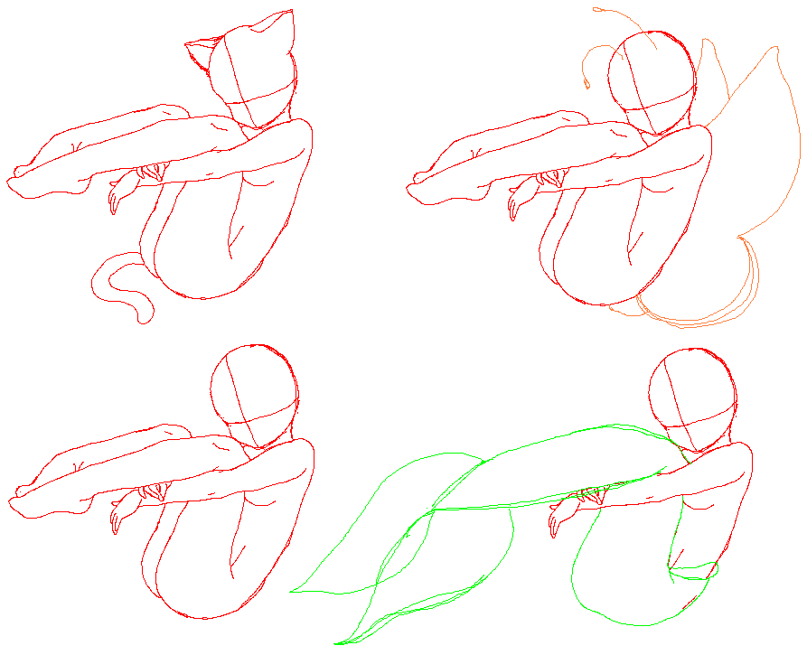how to draw poses from your mind