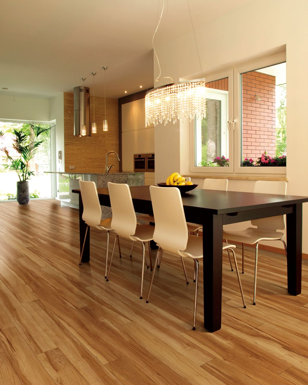 Coretec 5 Red River Hickory 50lvp508 Wood Floor Dining Room Waterproof Laminate Flooring Vinyl Plank Flooring
