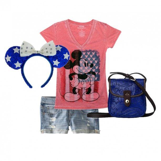 Disney Style Snapshots: Fashion Independence Day « Disney Parks Blog