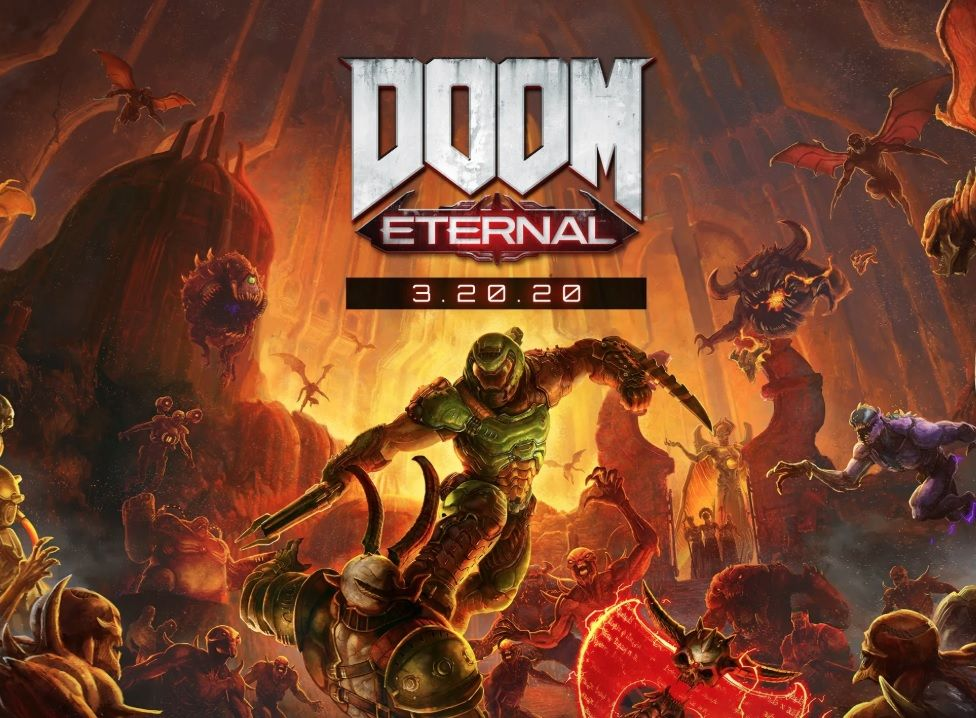 DOOM Eternal's launch is delayed to March 2020. DOOM