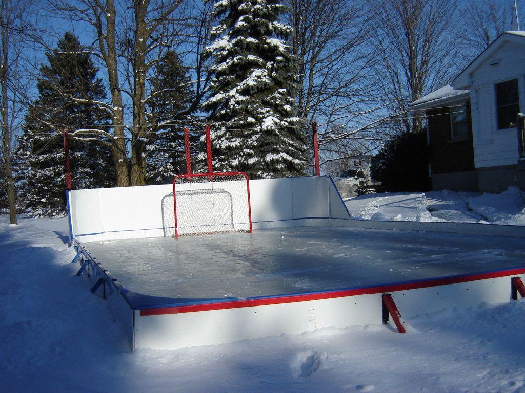 Ice Rink Parts Top Edge Potect Backyard Rink Backyard Rink Ice Rink Backyard Hockey Rink