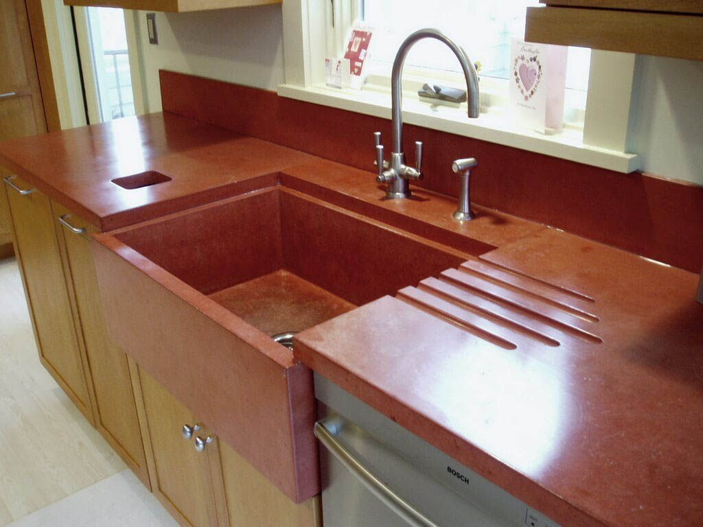 Concrete Countertops Advantages And Disadvantages Kitchen