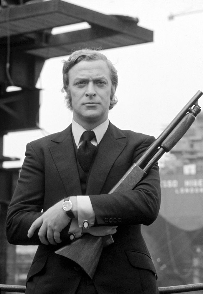 """#Update - #MichaelCaine in """"Get Carter"""" by #MikeHodges 1971 -- #BlackTie"""