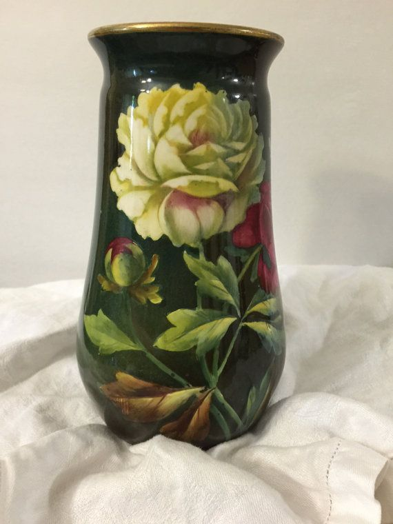 Antique Royal Bonn Hand Painted Vase Collectible Porcelain Franz