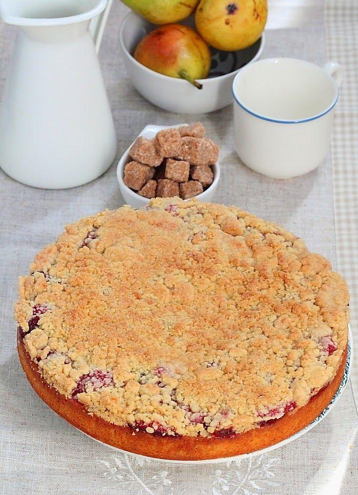 Délices d'Orient: Gâteau streusel  aux quetsches