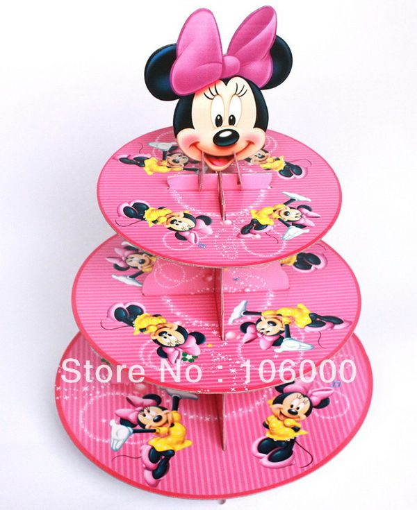 Cheap stand up collar blouse Buy Quality plate food directly from China plate japan Suppliers Product NameMinnie Mouse theme party three layer cake plate ...  sc 1 st  Pinterest & Minnie mouse themed birthday party/ baby shower party cardboard ...