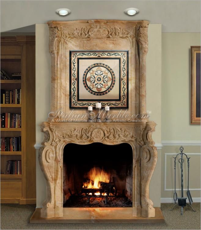 Image Result For دفايات ديكور جبس Faux Stone Panels Fireplace Stone Panels