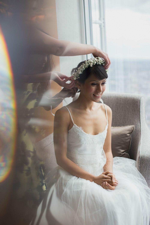 Bohemian style wedding two piece ophelia design dana bolton www wedding dress ombrellifo Gallery