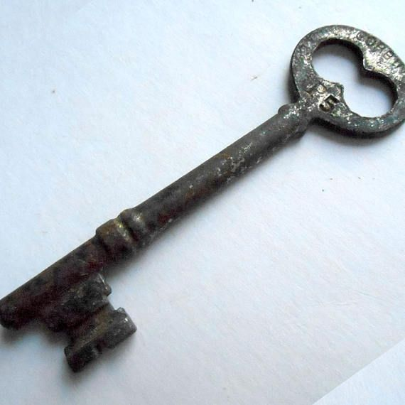 ANTIQUE 1900u0027s Corbin P5 Skeleton KEY Victorian Door Lock #antique #corbin # Skeleton #