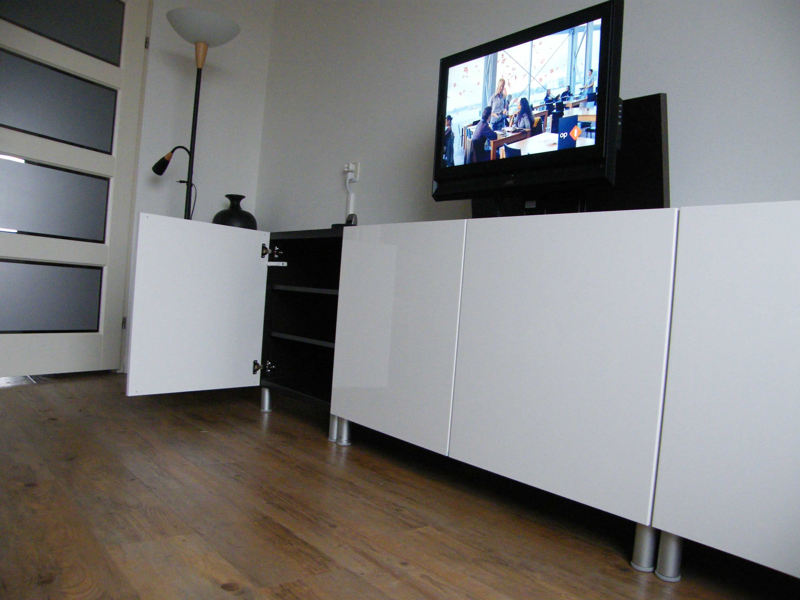 Ikea Kast Besta Ikea Besta Tv Lift Diy Furniture Ikea Living Room Tv Tvs