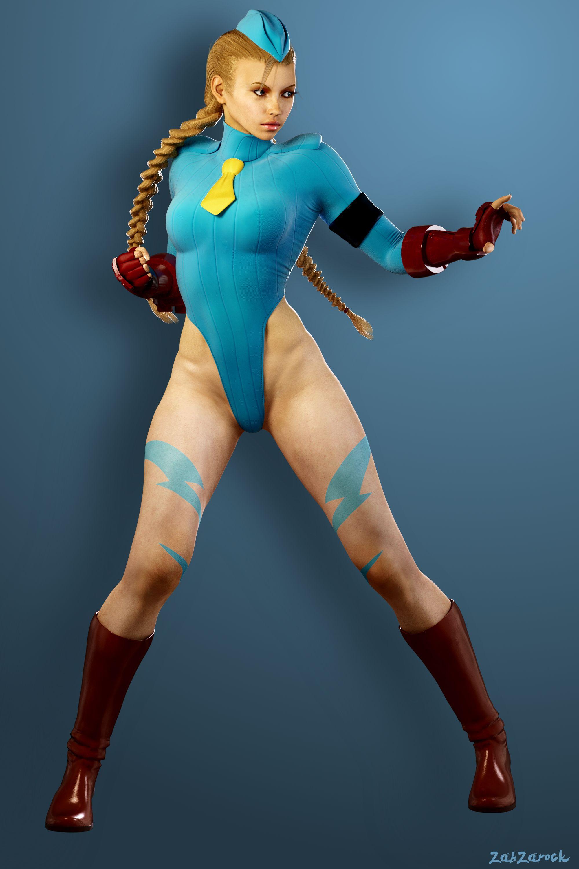 Anime Street Fighter Bishoujo Cammy ZERO Costume 1//7PVC Scale Figure