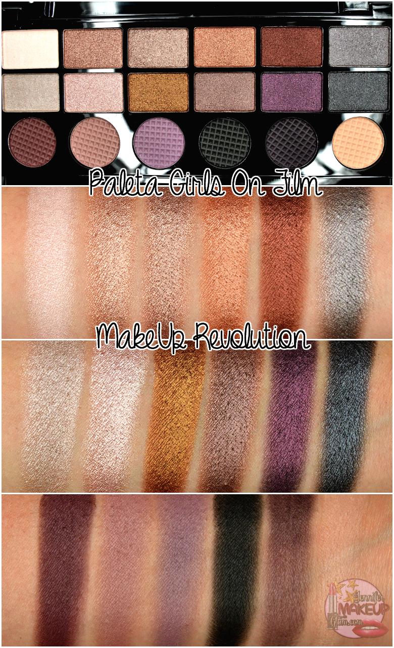 Girls on Film Makeup Revolution palette Beauty