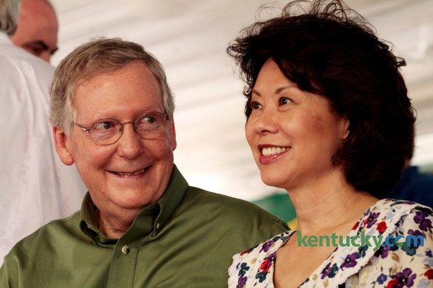 Latest Mitch McConnell ad features wife Elaine Chao appealing to women - http://www.us2014elections.com/latest-mitch-mcconnell-ad-features-wife-elaine-chao-appealing-to-women/