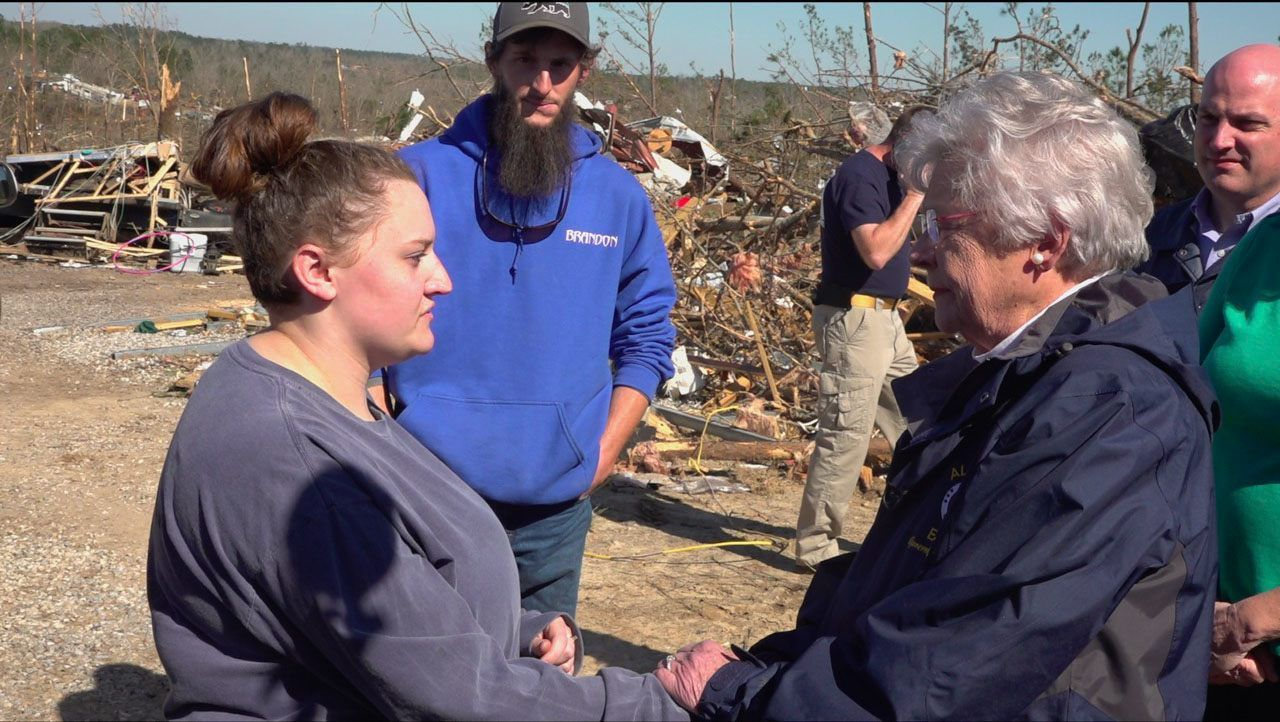 Alabama girl injured in tornado doesn't know her father best