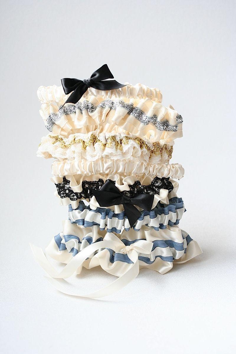 Elegant Wedding Garters-by The Garter Girl