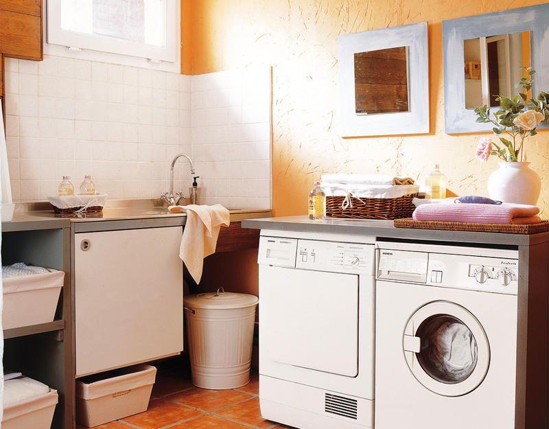 Pr cticos cuartos de lavado y plancha lavar planchas y for Lavaderos practicos