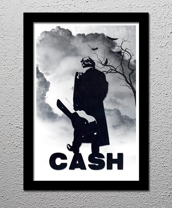 Johnny Cash Original Limited Edition Art Poster Print