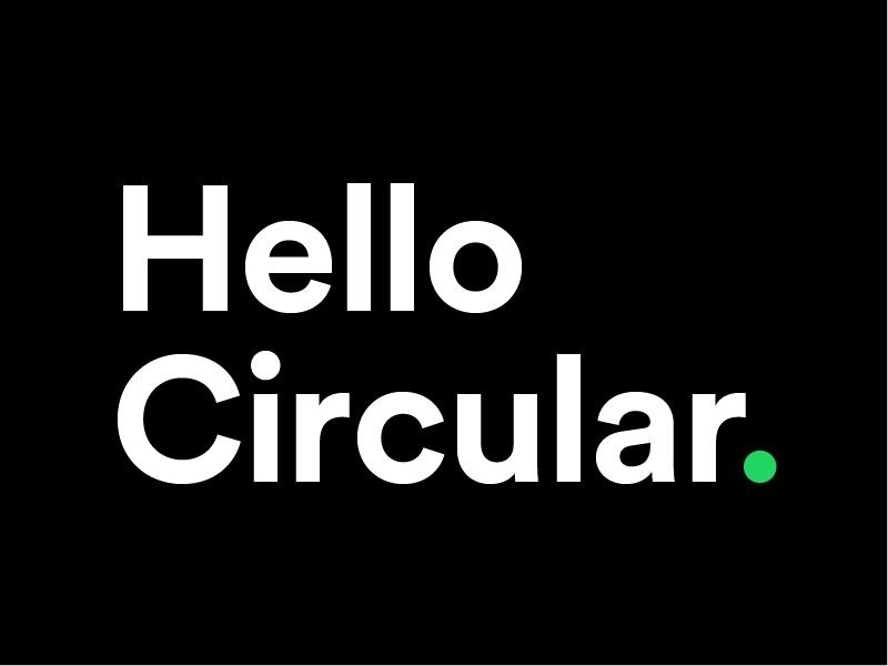 Hello Circular  | Sans-Serif Fonts | Typography fonts, Sans