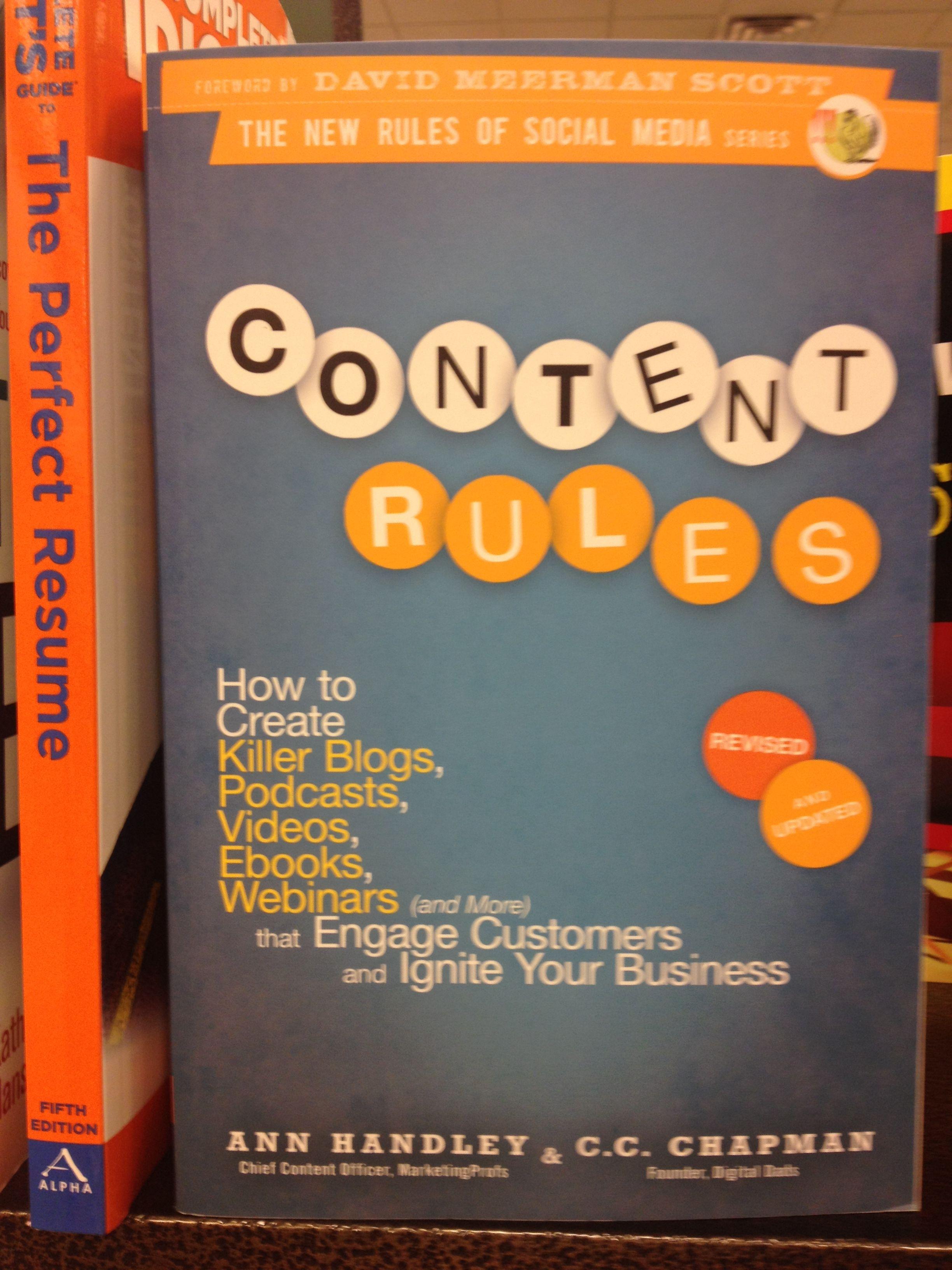 Un buen libro sobre Content Marketing