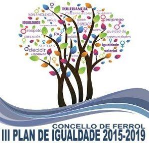 Banner Plan de Igualdade do Concello de Ferrol