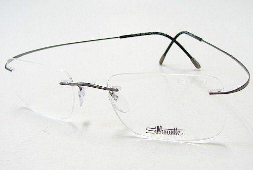 28a564b47f2 SILHOUETTE Eyeglasses TMA The Must Collection Chassis 7799 6107 SILHOUETTE  Eyeglasses TMA The Must Collection Chassis 7799 6107 Gunmetal Optical Frame  ...