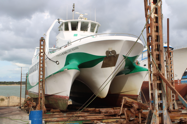 astillero en Sanlúcar de Barrameda
