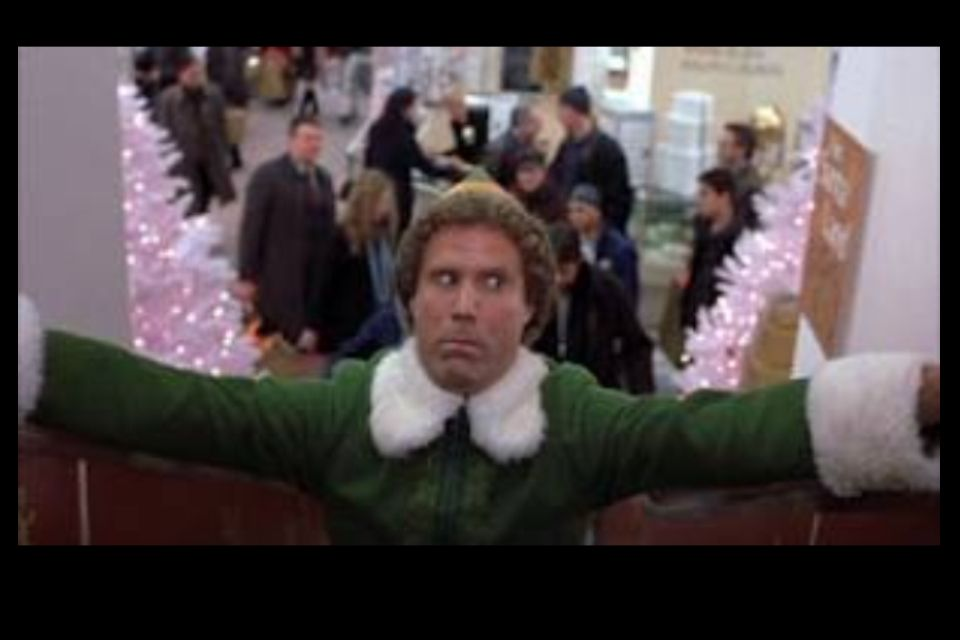 Do The Splits On An Escalator Like Buddy The Elf With Images