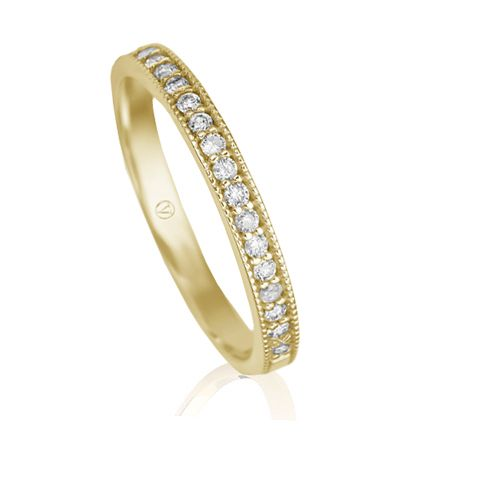 127c9352e27c5 Meia Aliança Ouro Amarelo e Diamantes Jazz   Wishlist   Pinterest ...