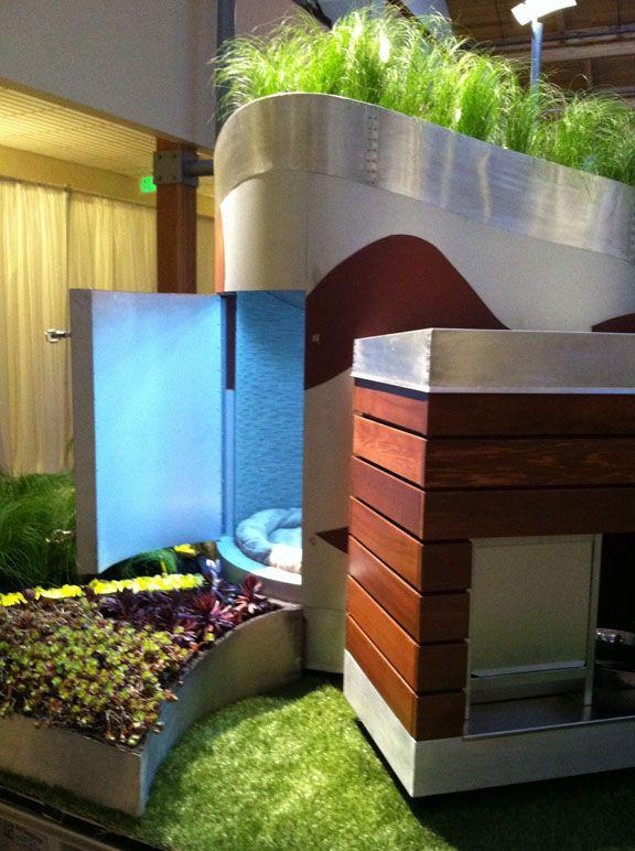 Demetriou Architectsu0027 entry Barkitecture dog house and garden - fresh blueprint builders seattle