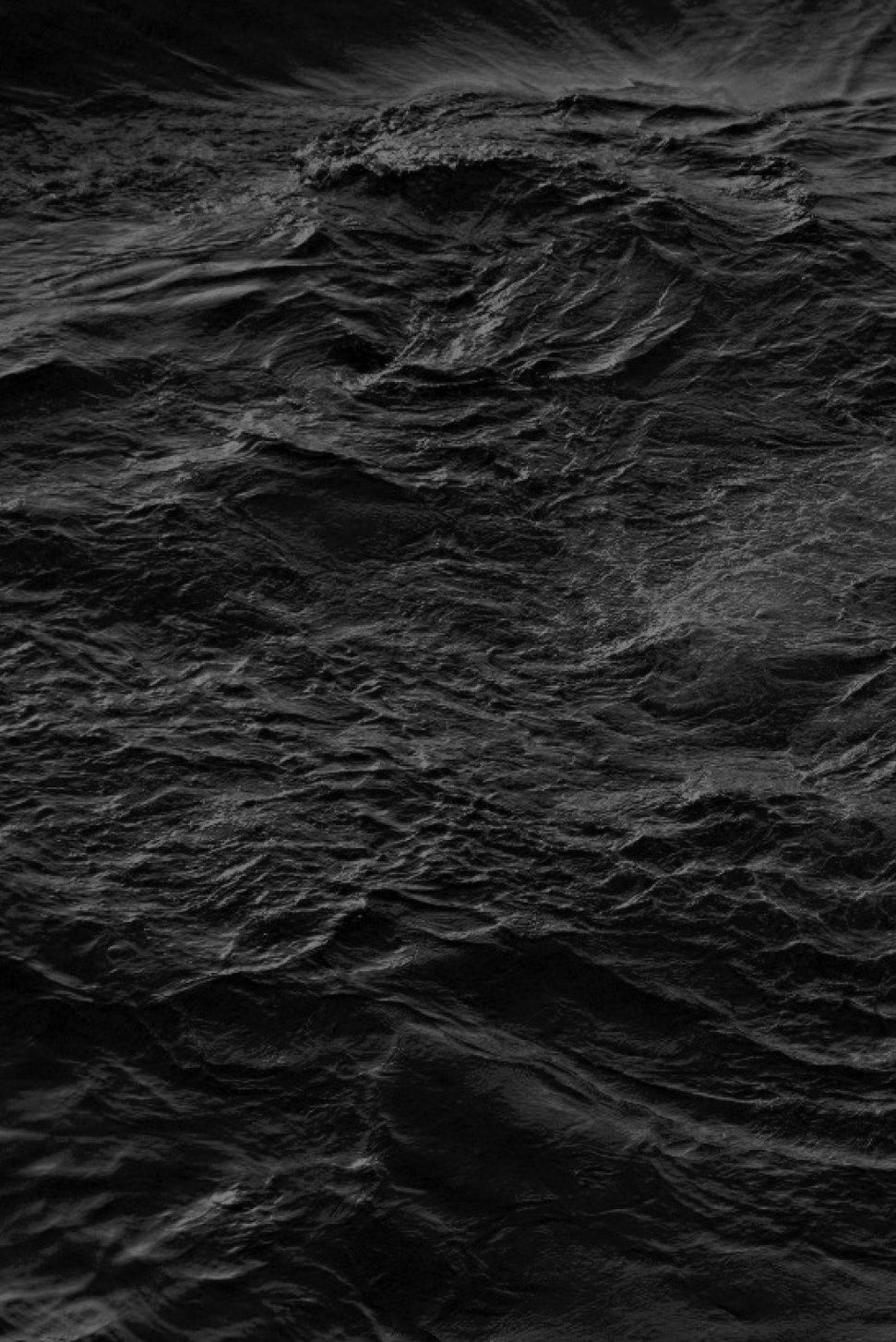 Black ocean water waves black texture inspiration