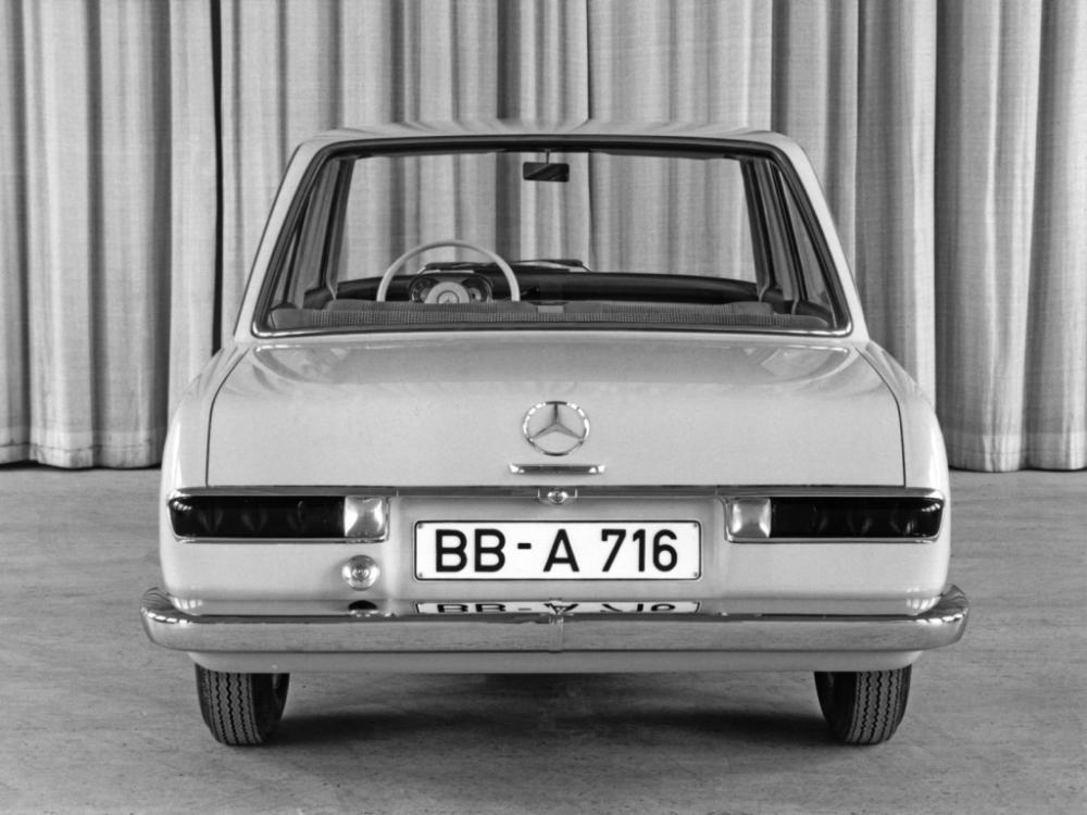 MercedesBenz W118/W119 Prototype '1960 Mercedes benz