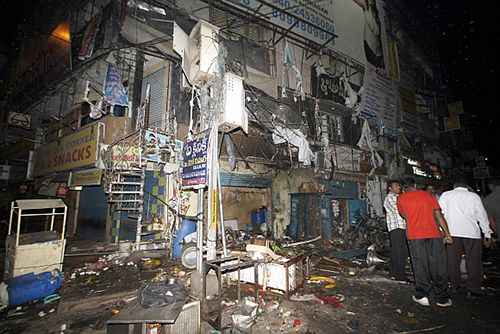 Dilsukhnagar Blasts prime accused held - Click here for full story http://www.thehansindia.com/posts/index/2014-03-24/Dilsukhnagar-blasts--prime-accused-held-89942  * Waqas Azhar, three others arrested in Jodhpur * A Pak national, he is a chief bomb-maker of IM * He carried out several terror attacks in India * Said to be planning to attack Narendra Modi * Cops claim to have averted 'spectacular attack'