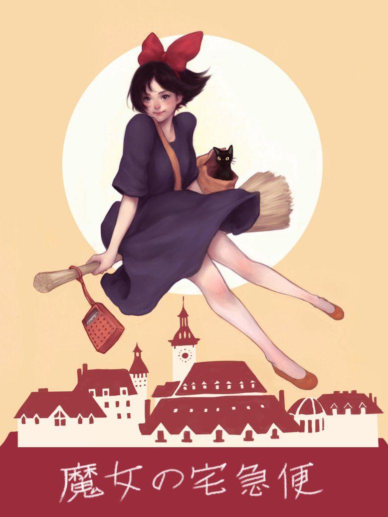 Kiki's Delivery Service by JDarnell on DeviantArt