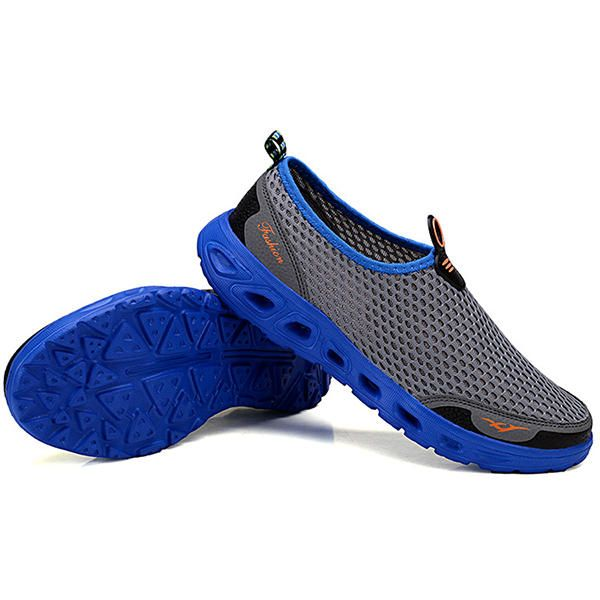 7601fdeb28d Men Hollow Out Casual Sport Shoes In Mesh - Banggood Mobile