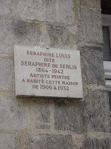 Plaque Séraphine