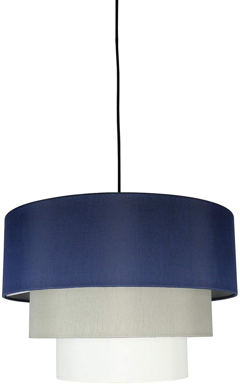 Hanging Light Kit Navy Blue Moss Gray Navy Blue Pendant Lights Hanging Lights White Lamp Shade Blue Pendant Light