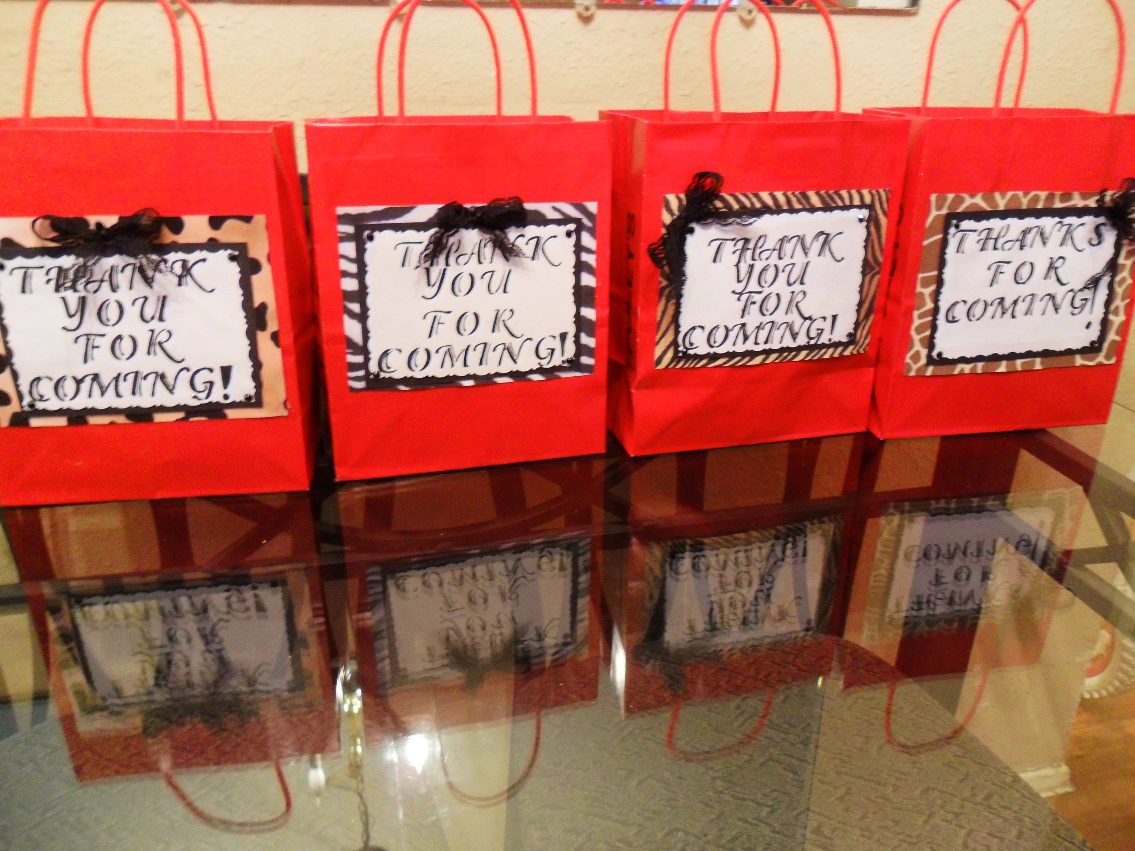Goody Bags For The Adult For My Daughter S Bday Party Super