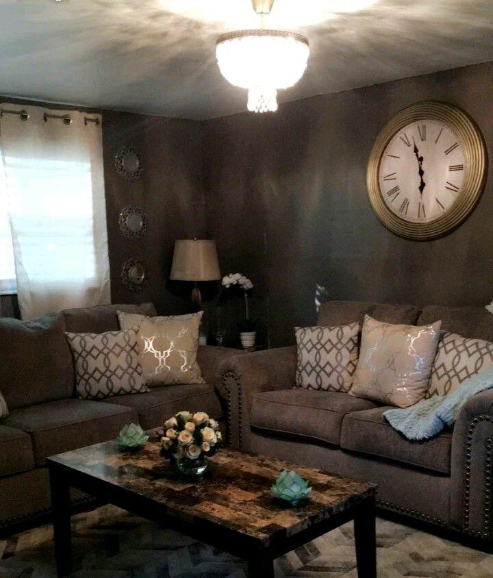 Grey chic livingroom   Living room grey, Living room, Home ...