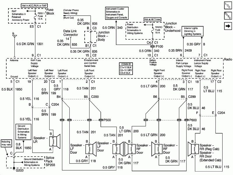 2001 Gmc Sierra Wiring Diagrams With Images Chevy Silverado