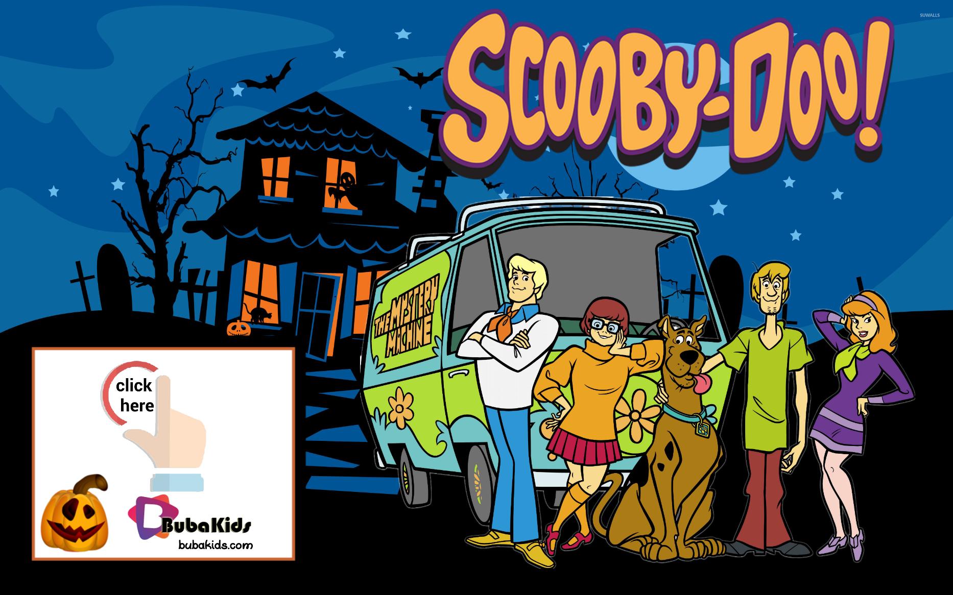 Scooby Doo Mystery Machine Free Printable Halloween