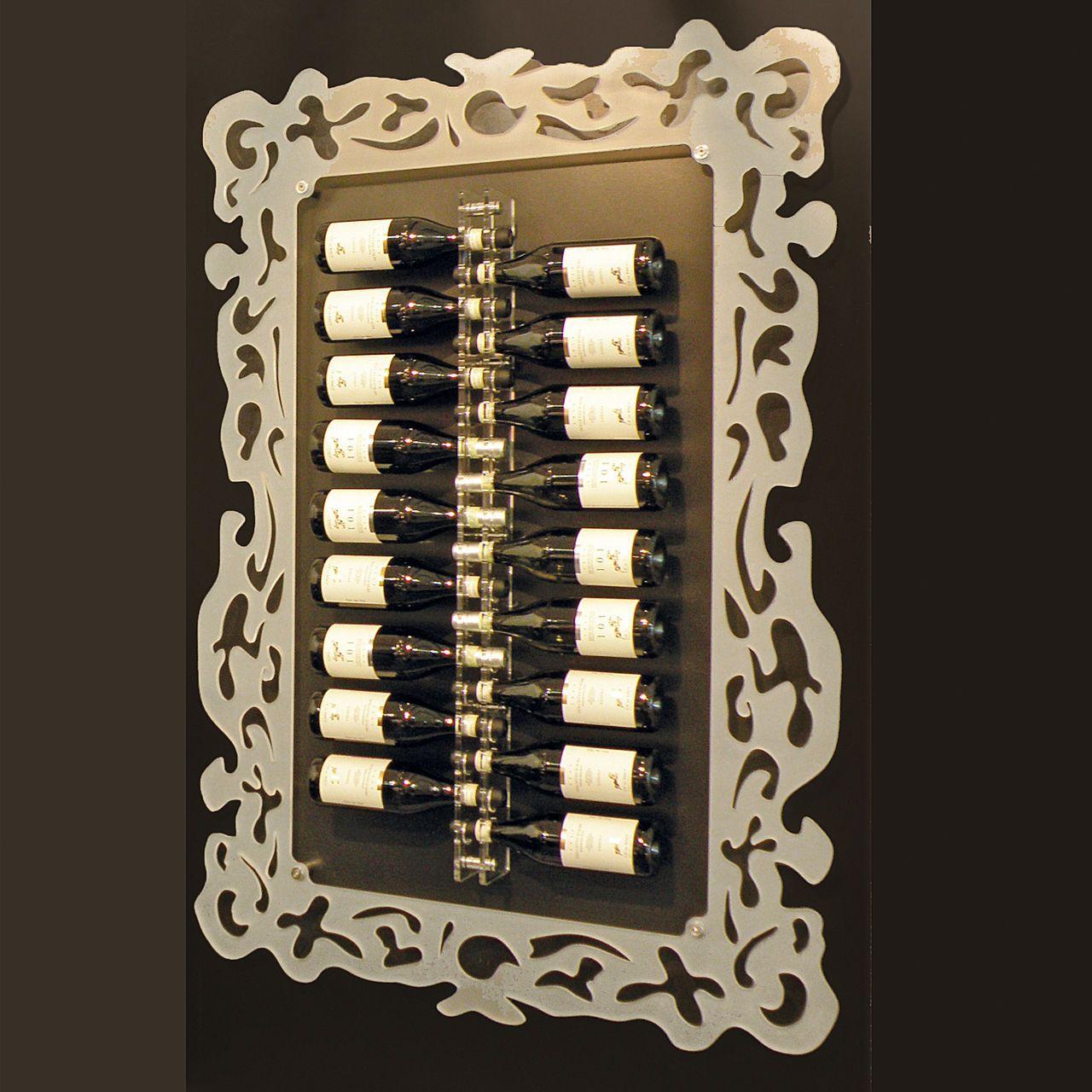 super zum einrahmen der lieblingsflaschen: acrylrahmen ancona und, Moderne