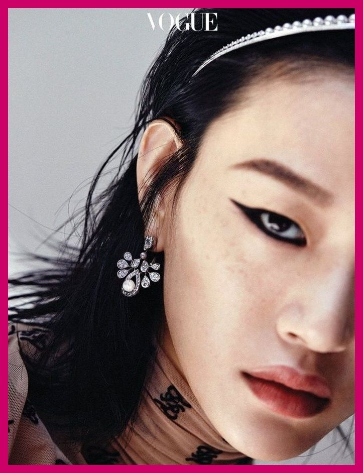 Photo of Sora Choi Vogue Korea Fendi Cover Fashion Editorial Page & #jewerlyeditorial