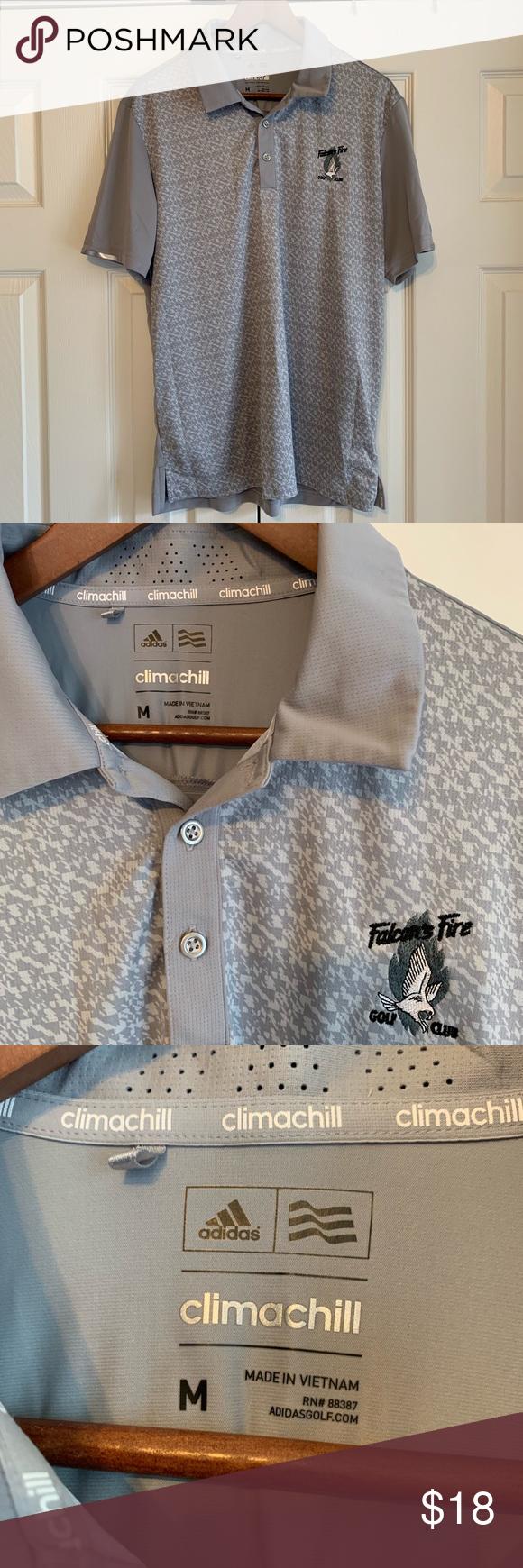 14+ Adidas climachill golf polo viral