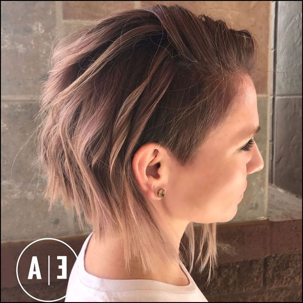 Outstanding 20 Cute Shaved Hairstyles For Women Undercut Bobs And Shaved Natural Hairstyles Runnerswayorg