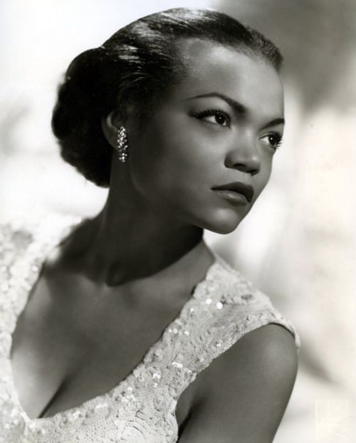 """Eartha Kitt, 1950s was an American singer, actress, and cabaret star. She was perhaps best known for her highly distinctive singing style and her 1953 hit recordings of """"C'est Si Bon"""" and the enduring Christmas novelty smash """"Santa Baby""""."""