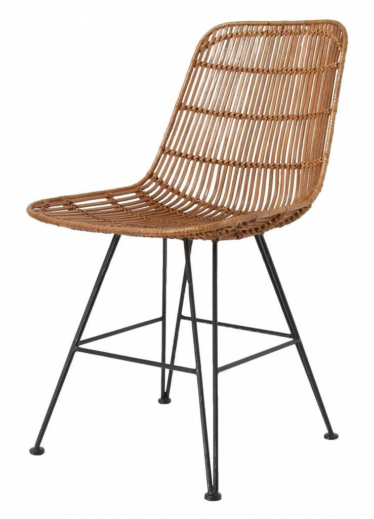 Hk living silla de comedor de metal de la rota la for Sillas de metal para comedor