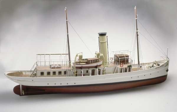 Caldercraft Schaarhorn Steam Yacht Scale Korabli - Model cruise ship kits