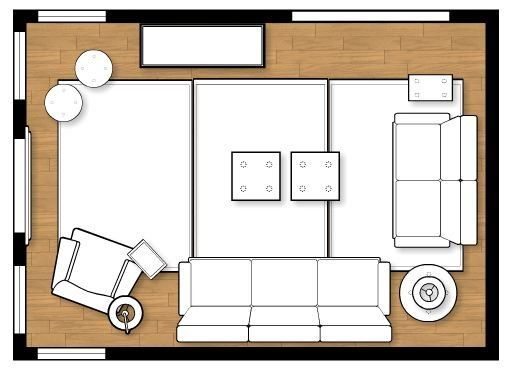 Ideas For Family Room Layout images
