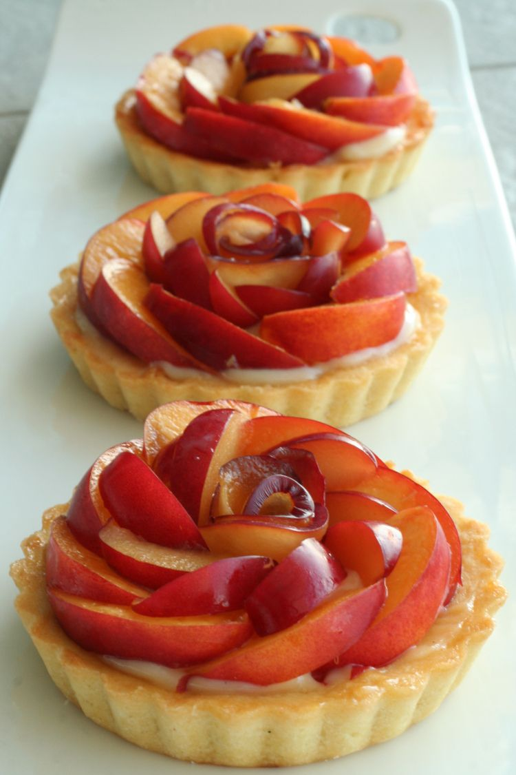 Summer Fruit Tarts Sweet tarts, Desserts, Fruit tart
