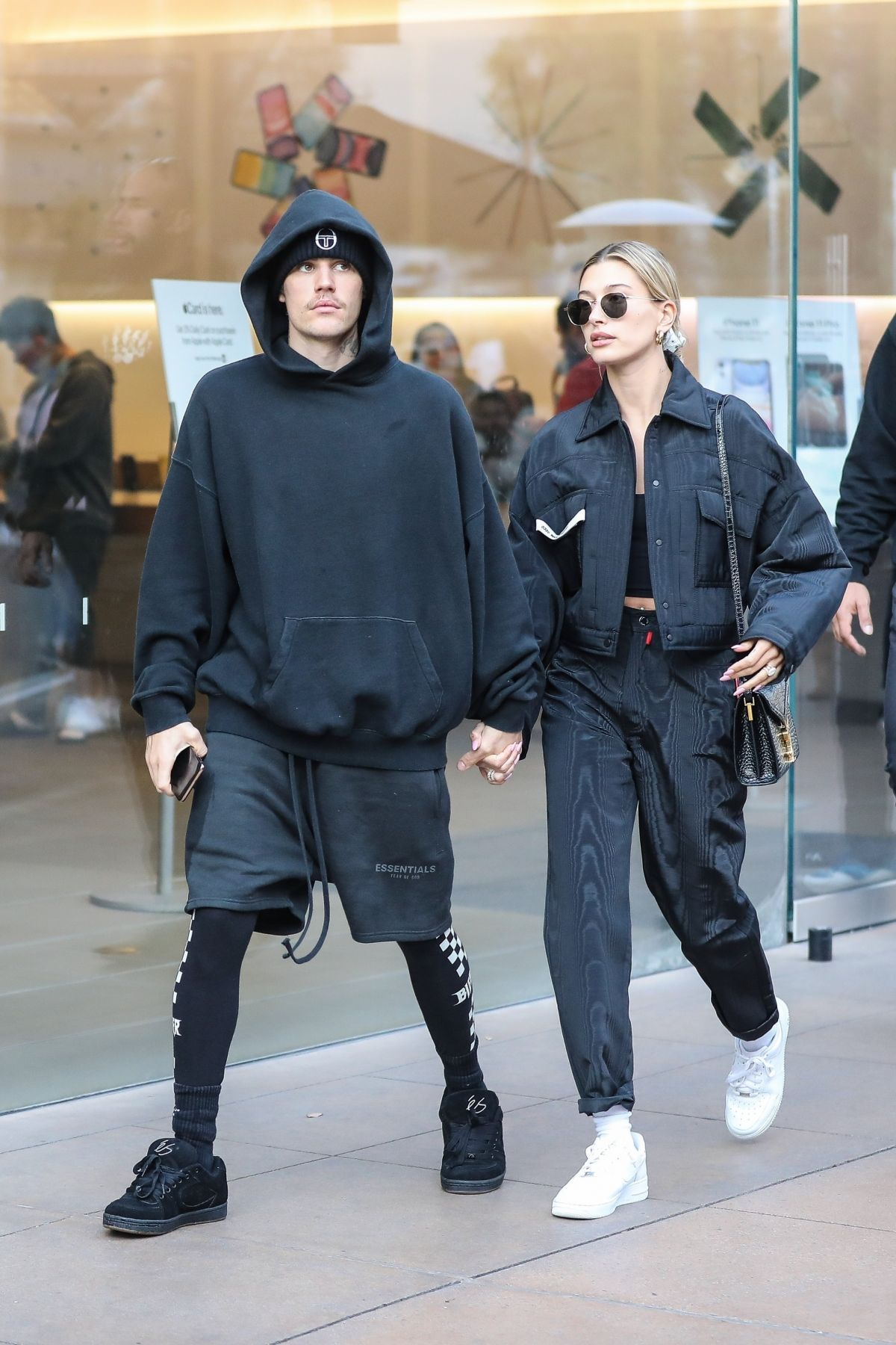Hailey Bieber Shopping at The Grove in Los Angeles